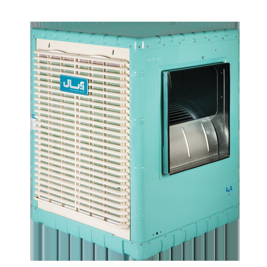 کولر آبی پشت بامی نانو سلولزی (نانو سل پد - مجهز به کلید الکترونیک)